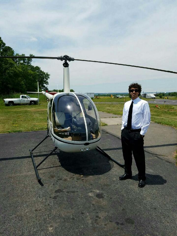 Jeff MacKenzie 6.17.16 Commercial Helicopter License