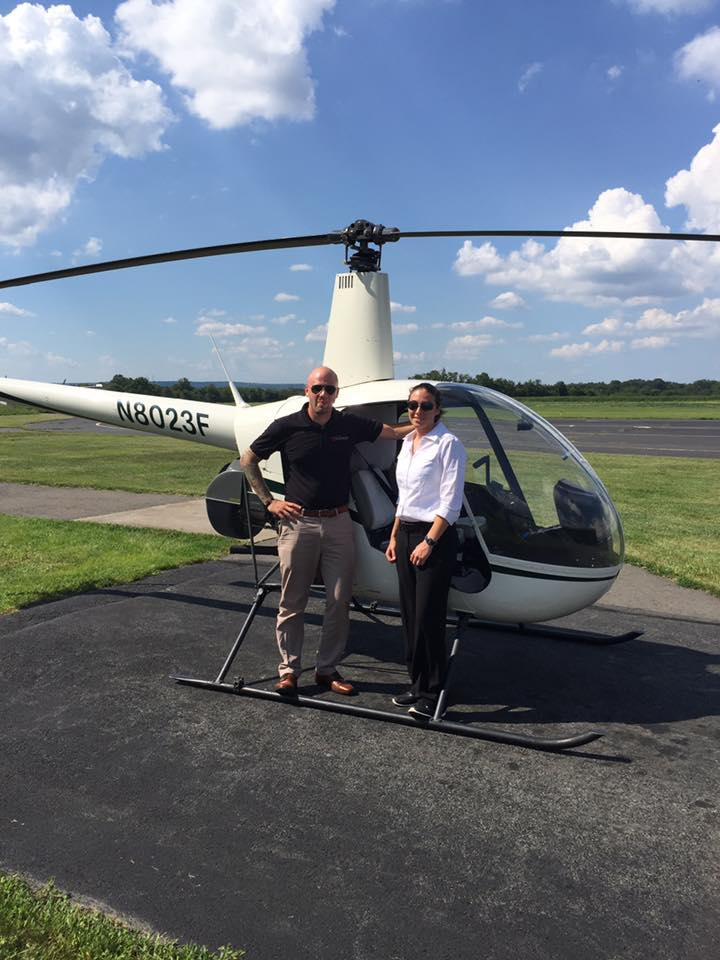 Kate Drisco- Commercial Helicopter License 8.20.16