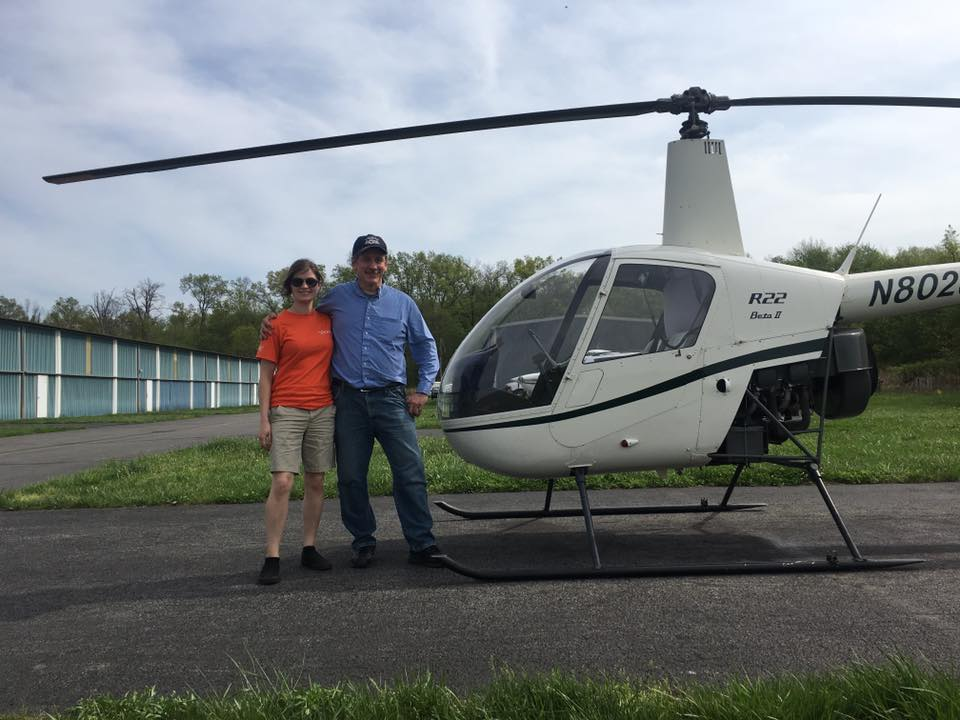 42917 Fredy Passes His Checkride  Platinum Helicopters